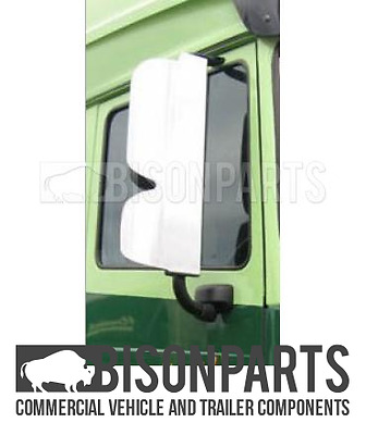 +Daf Xf105 (2005 - 2013) Stainless Steel Mirror Guards Rh & Lh (Pair) Bp116-224