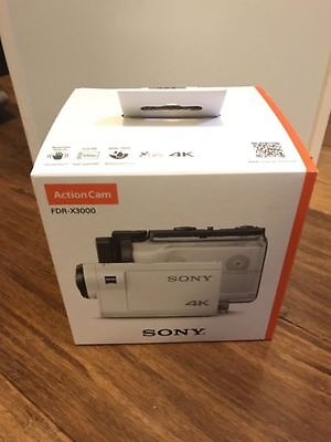 NEW Sony FDR X3000 4K Action Video Camera and Camcorder