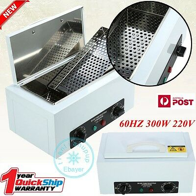 UV Towel Sterilizer Warmer Cabinet Disinfection Heater Hot Hotel Salon Spa AU