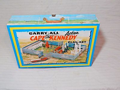 Vintage Marx Cape Canaveral Tin Litho Play Set Toy
