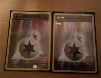 Pokemon International Championships North American staff double colorless energy