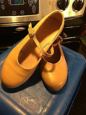 Block Tap Shoes Youth 4 1/2 Leather