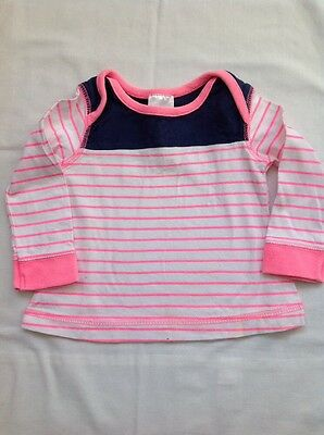 Baby Girls Top 0-3 months Long sleeved top pink