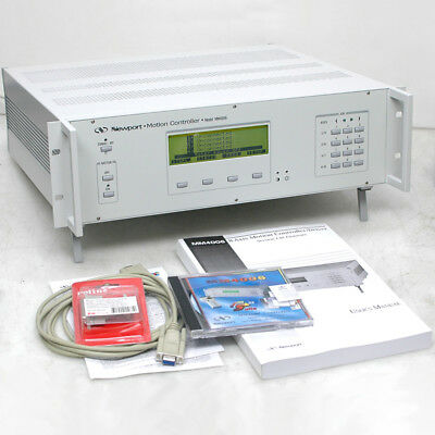 Newport MM4006 8-axis Motion Controller with (3) E2513C 1-axis Drives, Manual