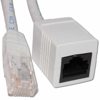 5m Networking CAT5e UTP Ethernet RJ45 Network Extension Cable White [006264]