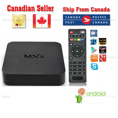 unlocked Android Smart TV Box S805 Quad Core 8GB WiFi 1080 canadianseller