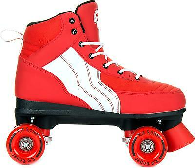 Rio Roller 'Classic' Quads. Pure Red/White.