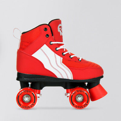 Rio Roller 'Classic' Kids Quads. Pure Red/White.
