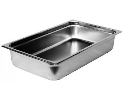 Sysco 5079371 Steam Table Pan 4 Inch Full Size Stainless Steel Case Lot of 6 New