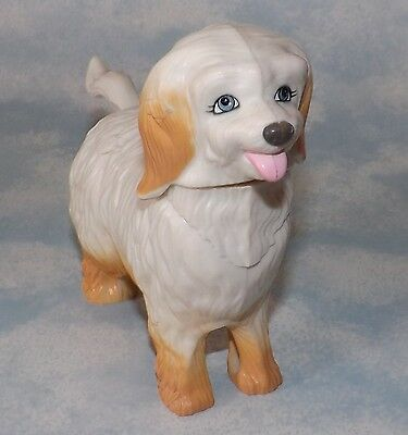 Dog Figure, Plastic, Toy, Move tail up/down and head goes up/down