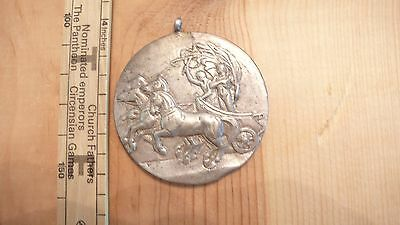 Rare 1948 XIV OLYMPIAD LONDON MEDAL Silver Color