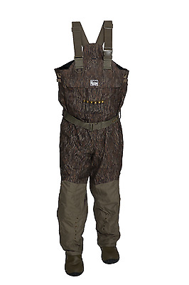Banded Redzone uninsulated Waders Bottomland camo Size 13 Regular Waterfowl New!