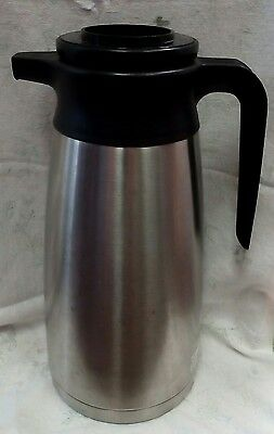 Commercial Server Stainless Steel Vacuum Insulated Thermal Coffee Carafe Pot Hot