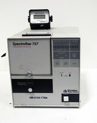 ABI  Model 757 Absorbance Detector 05321 (See video)