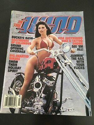 In The Wind : Easyriders Motorcycle Magazine / Lot Of 10 / NO RESERVE (4)