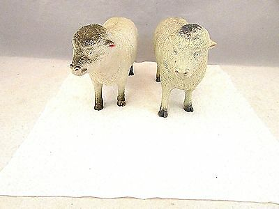 Pair Of Imperial Sheep Figures 1986