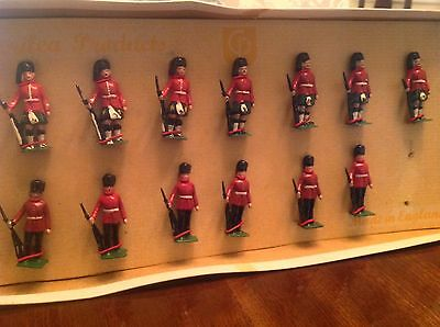 1950s Toy Soldier British Guards & Scots By Cherilea 1950s