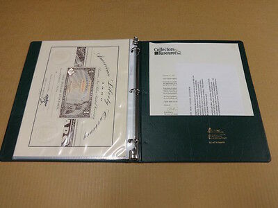 Norfed American Liberty Currency Sheets with Binder Limited to 5000