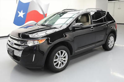 2013 Ford Edge SEL Sport Utility 4-Door 2013 FORD EDGE SEL CRUISE CTRL HTD LEATHER REAR CAM 49K #B36923 Texas Direct