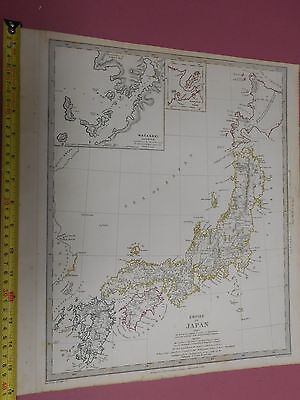 100% Original Empire Of Japan Map By Sduk C1841 Vgc