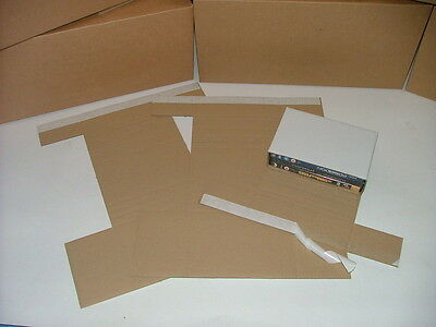 1-3 DVD Amaray case Corrugated Mailer !!**Multiple Quantities available**!!