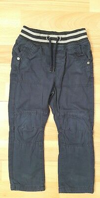 baby boys navy lined  trousers 18-24 months TU