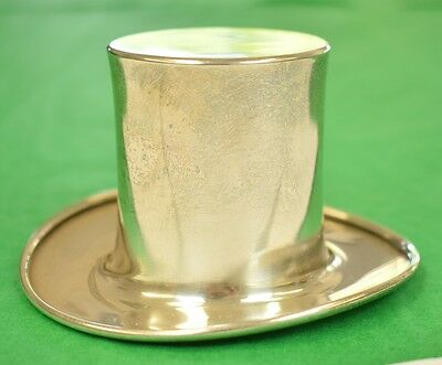 """Classic Sterling 'Top Hat' Jigger Cup"""