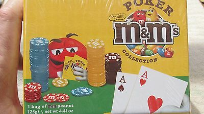 M&M's(R) Licensed New MIB - Poker Collection  1 to 4 players - for ages 12+