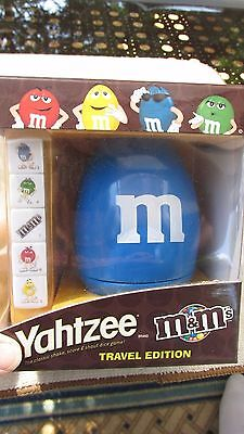 M&M's(R) New MIB - Yahtzee Travel Edition - for ages 8+
