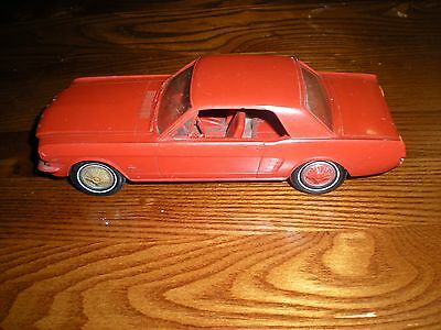 1966 Ford Mustang DEALER PROMO CAR  RED 289 GOOD CONDITION LOW BID NR LOOK