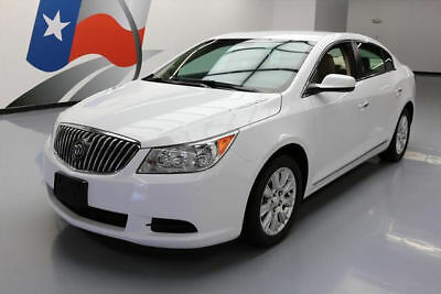 2013 Buick Lacrosse Base Sedan 4-Door 2013 BUICK LACROSSE SEDAN HYBRID CRUISE CTRL ALLOYS 20K #300355 Texas Direct