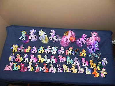 My Little Pony Figures Lot of 49