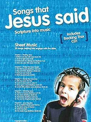 Songs That Jesus Said - Getty, Keith (Adp)/ Getty, Kristyn (Adp) - New Paperback