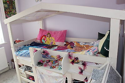 Children 39 s bed picclick uk for Single bed tent canopy