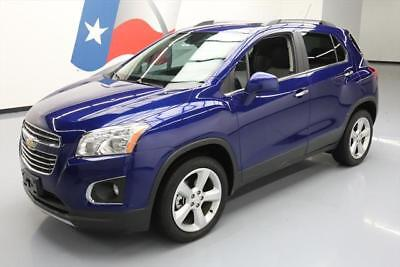 2015 Chevrolet Trax LTZ Sport Utility 4-Door 2015 CHEVY TRAX LTZ AWD SUNROOF REAR CAM HTD SEATS 30K #233961 Texas Direct Auto