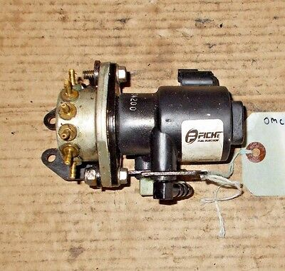 Ficht Oil Injector And Manifold  #5000527 Johnson Evinrude 200-250 Hp 1999-2003