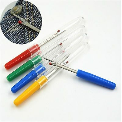 Creative Plastic Handle Seam Stitch Ripper Unpicker Thread Cutter Sewing Tool