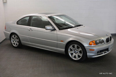 2001 BMW 3-Series 325Ci BMW 325Ci Premium Package Sport Package Heated Seats Fold Down Seats