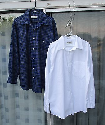 Orvis - 2 Long Sleeve Shirts- Size XL Wholesale Lot of 2 Shirts