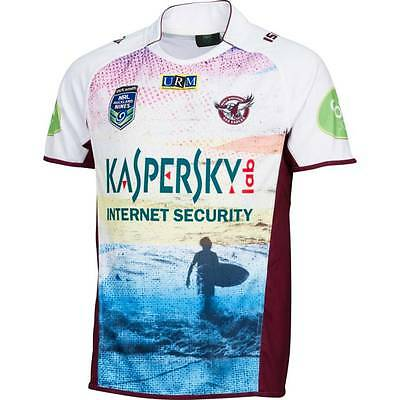 Manly Sea Eagles Auckland 9's Nines Jersey  Kids Sizes 8 ONLY! 9's!5