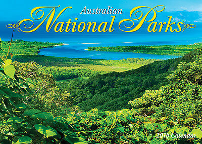 Australian National Parks 2018 Wall Calendar NEW by Bartel  - Postage Included