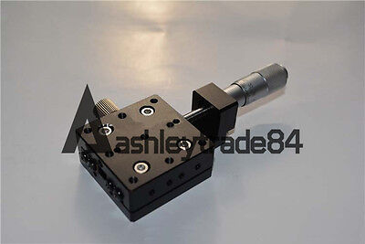 X-Axis Middle Trimming platform Manual Stage Slider CNC tool 40*40mm