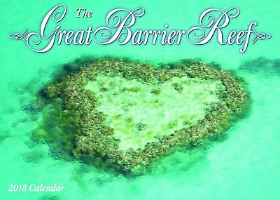 Great Barrier Reef 2018 Wall Calendar NEW Bartel Calendars - Postage Included