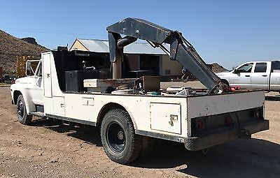 Knuckle Boom, Crane , Tire Truck With Air Compressor Ford F750