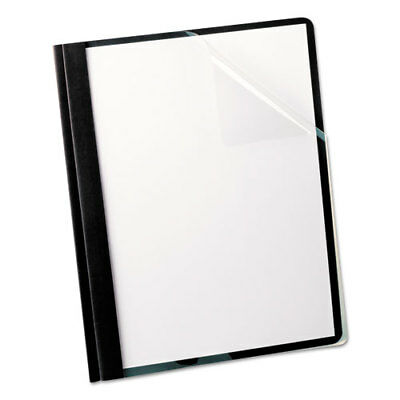 Oxford Linen Finish Clear Front Report Covers - OXF53306