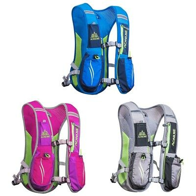 Outdoor Trail Marathoner Running Race Hydration Vest Hydration Pack Backpack5.5L