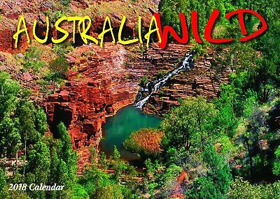 Australia Wild 2018 Wall Calendar NEW Bartel Calendars - Postage Included