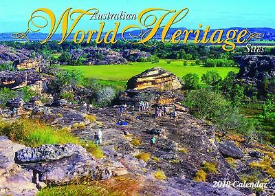 Australian World Heritage 2018 Wall Calendar NEW by Bartel - Postage Included