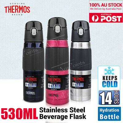 THERMOS Stainless Steel Vacuum Insulated Travel Hydration Bottle Flask 530ml