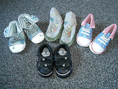 Baby Boys shoes size 3 and 9-12 months